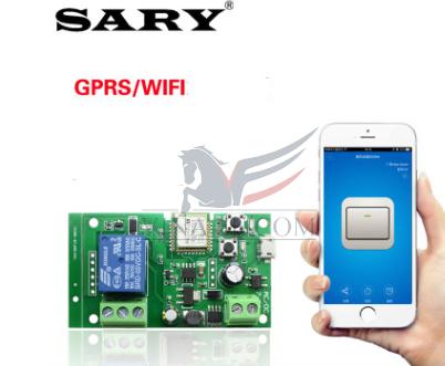 Bộ điều khiển từ xa 1 kênh bằng Wifi Sary