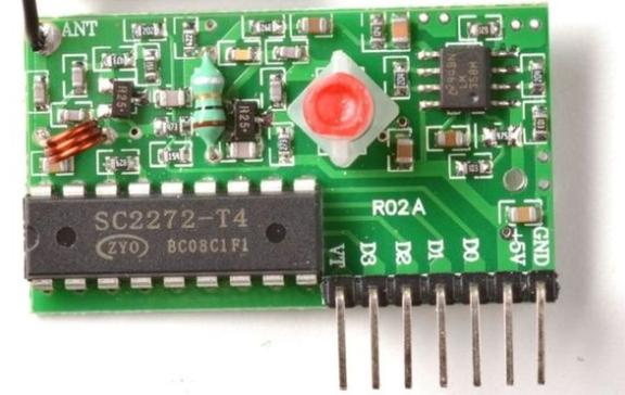 Module RF 315MHZ PT2272-T4