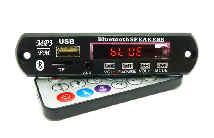 Module Giải Mã WAV+WMA+MP3 Bluetooth 12V DC