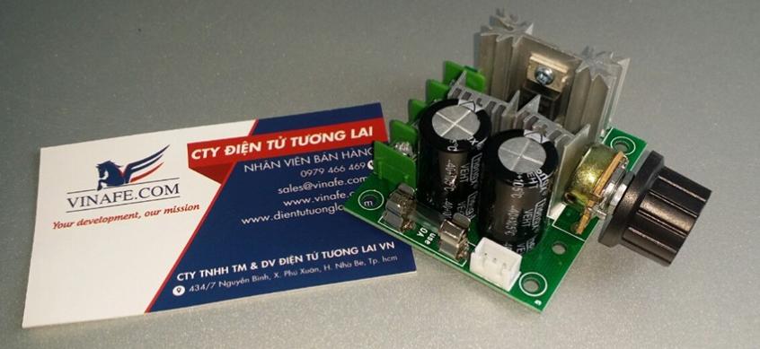Điều khiển tốc độ động cơ PWM (PWM 12-40VDC/10A)