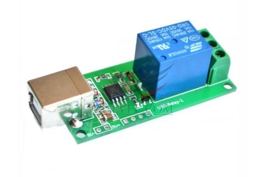Module 1 Relay 5V Bật Tắt Qua Cổng USB