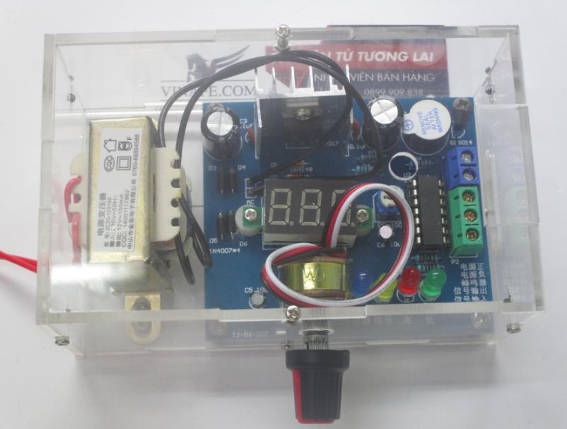 Bộ Nguồn Mini - IC LM317 - KIT DIY tự ráp