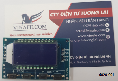 Module Tạo Xung PWM Có LCD Hiển Thị