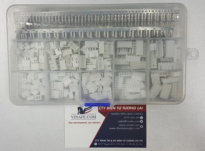 Hộp Header và Housing connector XH2.54 tổng hợp 460 cái